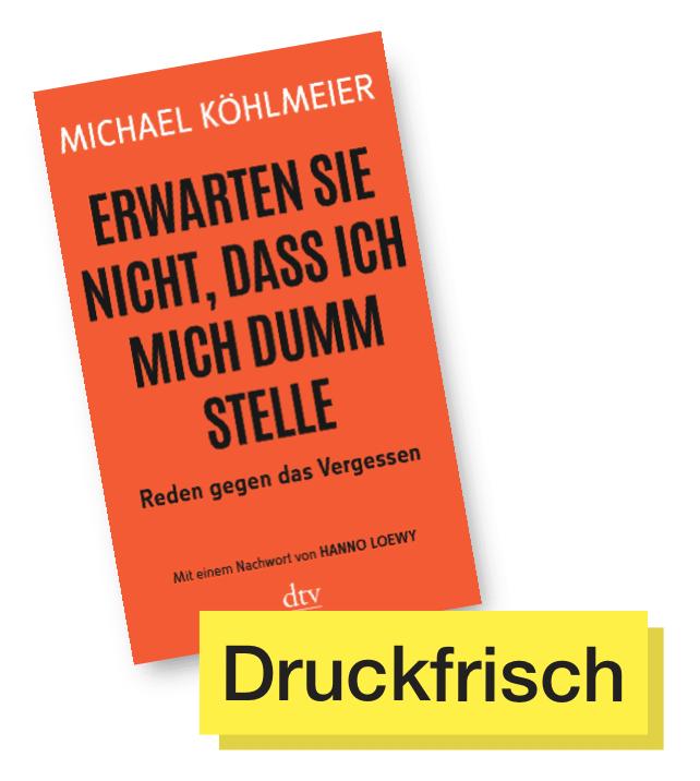Buchcover Erwarten Sie nicht, dass ich mich dumm stelle © dtv Verlag