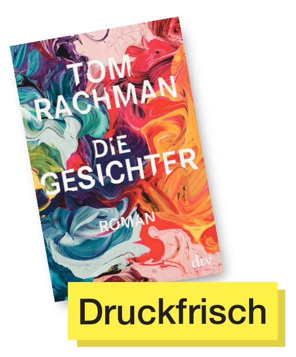 Buchcover Die Gesichter © dtv Verlag
