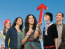 Gruppe von Menschen mit einem Pfeil nach oben © Benno Hagleitner, Fotograf