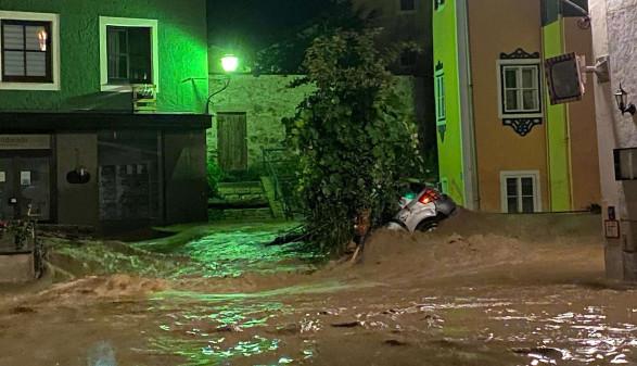 Hochwasser Österreich 2021 © ORF / Gerald Gundl