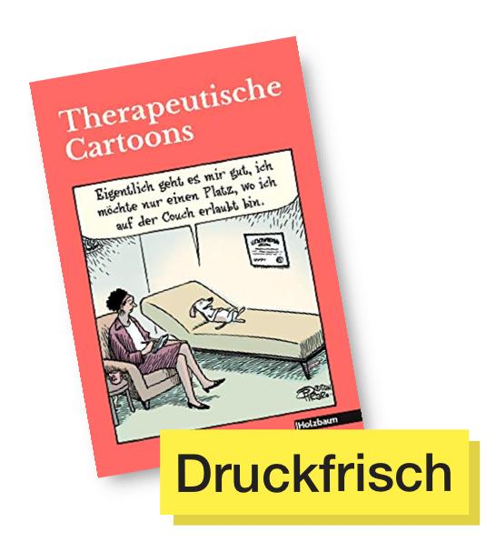Buchtitel Therapeutisch Cartoons © Emons Verlag