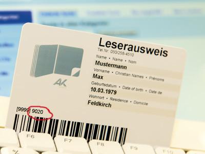 Leserausweis AK-Bibliothek © Jürgen Gorbach, AK