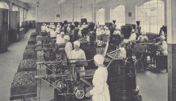 Arbeiterinnen im Bregenzer Maggi-Werk  © Julius Maggi Gesellschaft