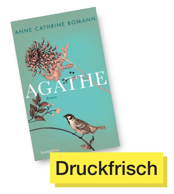 Buchcover Agathe © Hanserblau
