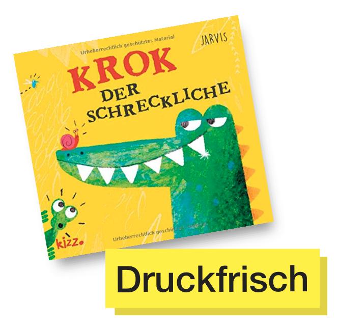 Buchtitel Krok der Schreckliche © kizz Verlag