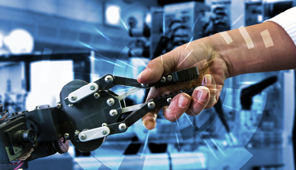 Handshake mit Roboterarm © zapp2photo, stock.adobe.com