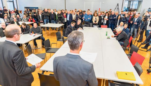 Wahlleiter verkünden das Wahlergebnis © AK Vbg.
