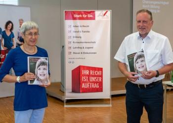 Studienautorin Dr. Eva Häfele und AK Präsident Huber Hämmerle © AK Vorarlberg, Gorbach