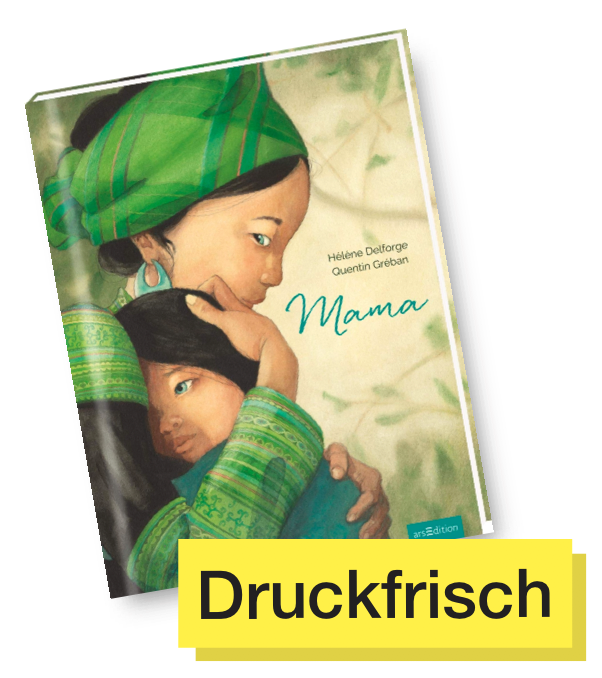 Buchtitel Mama © arsEdition