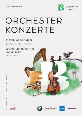 Programmplakate 2019 © moodley, Bregenzer Festspiele