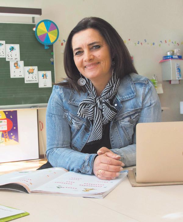Lehrerin Monika Burtscher © AK/Thomas Matt