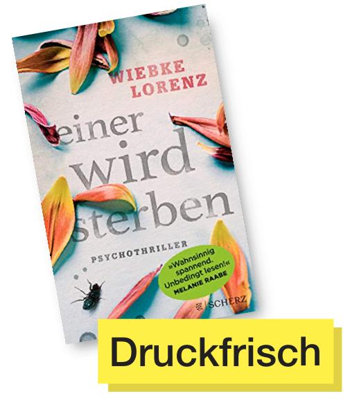 Buchtitel Einer wird sterben © Fischer Verlag
