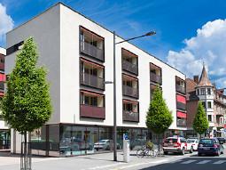 Blick auf die Geschäftsstelle Bludenz © Jürgen Gorbach, AK