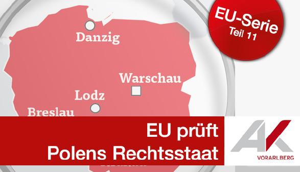 EU prüft Polens Rechtsstaat © Quelle: APA, Deutsches Statistisches Bundesamt, Grafik & Foto: KEYSTONE