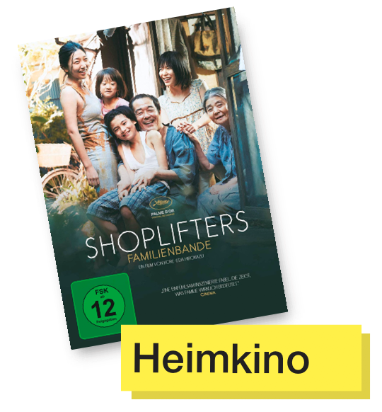 DVD Cover Shoplifters © Universum Film