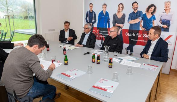 Teilnehmer der Pressekonferenz © AK Jürgen Gorbach