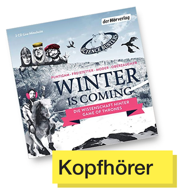 CD Cover Winter is coming © Der Hörverlag