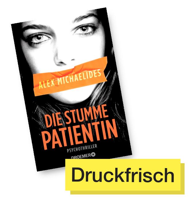 Buchcover Die stumme Patientin © Droemer Verlag