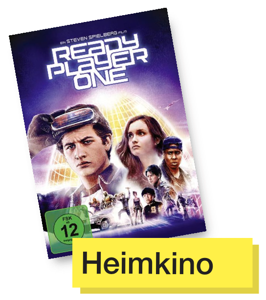 DVD Titel Ready Player One © Warner Home Video