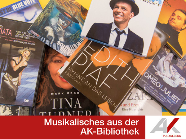 Musik in der AK-Bibliothek © AK Vbg., AK Vorarlberg