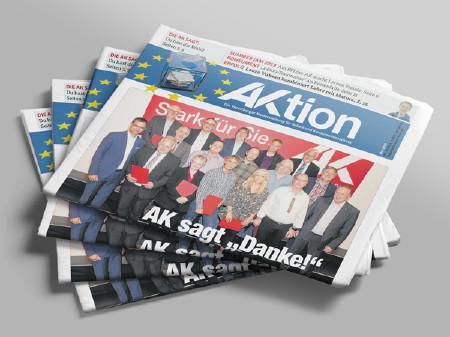 Titelseite AKtion Mai 2019 © AK Vbg.