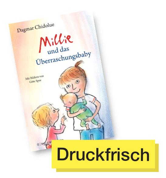 Buchtitel Millie und das Überraschungsbaby © Fischer Verlag