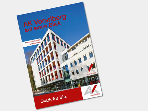 AK Vorarlberg auf einen Blick © AK, AK