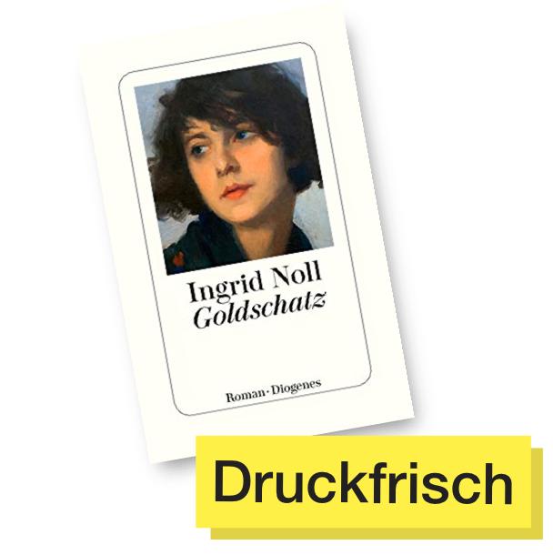 Buchtitel Goldschatz © Diogenes Verlag