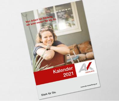 AK Kalender 2021 Titelbild © AK Vorarlberg