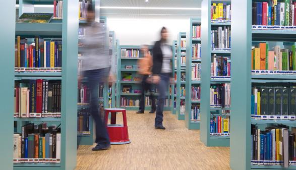 AK-Bibliothek Feldkirch © Dietmar Walser, Fotograf