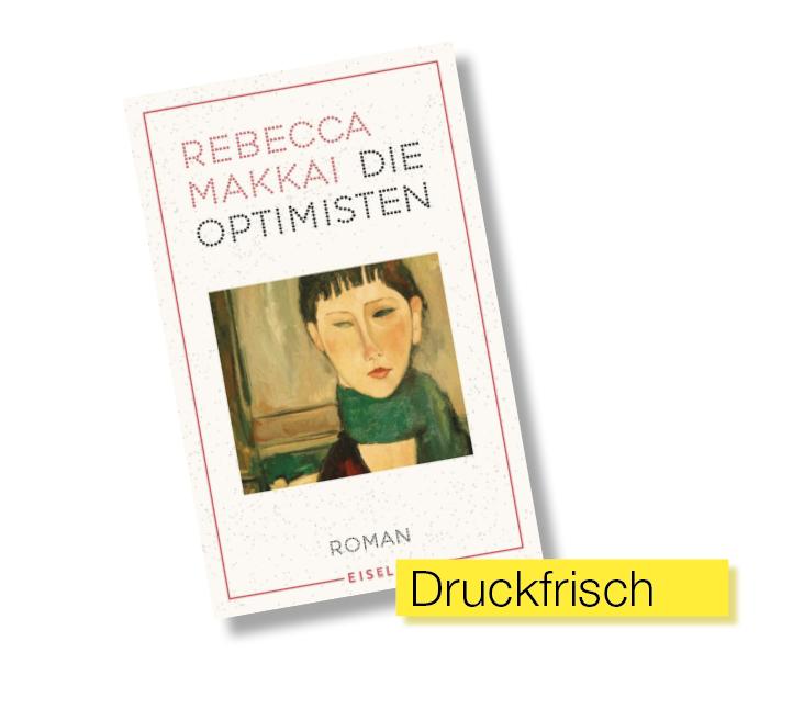 Buchtitel Die Optimisten © Eisele Verlag