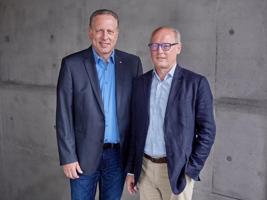 Präsident Hämmerle und Direktor Keckeis © Miro Kuzmanovic