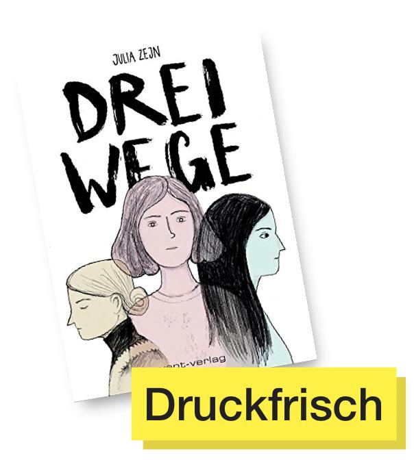 Buchcover Drei Wege © Avant Verlag