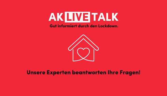 Ankündigung für AK Live-Talk © AKV, Giesinger