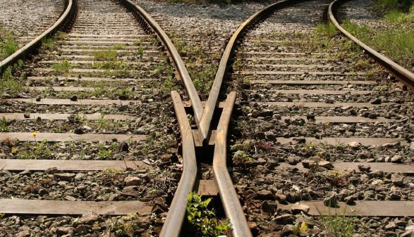 Schienenweiche © CARTAGENA, stock.adobe.com