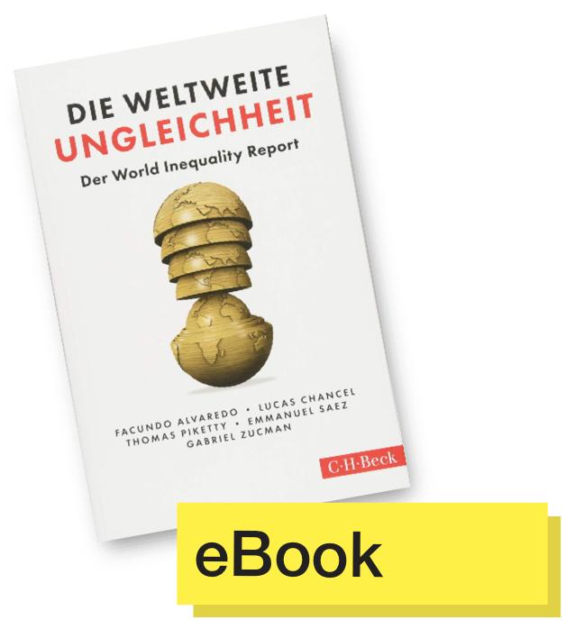 Buchcover Die weltweite Ungleichheit © C.H.Beck Verlag